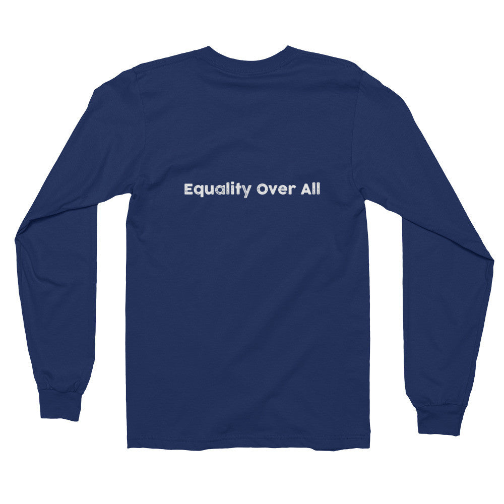 The Equ symbol - Equality Over All - Long sleeve t-shirt (unisex) - Bring Me Tacos - 2