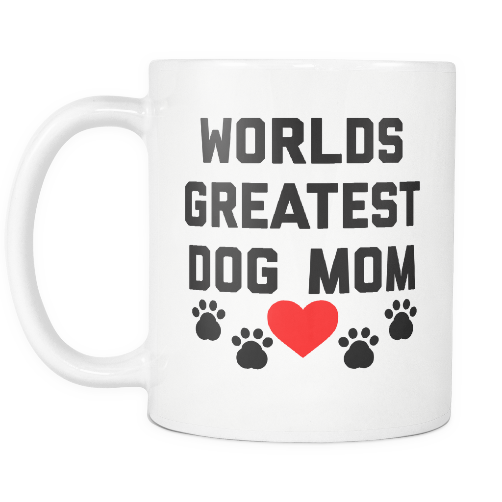 Worlds Greatest Dog Mom Mug