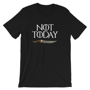 Not Today Arya Stark Dagger Shirt