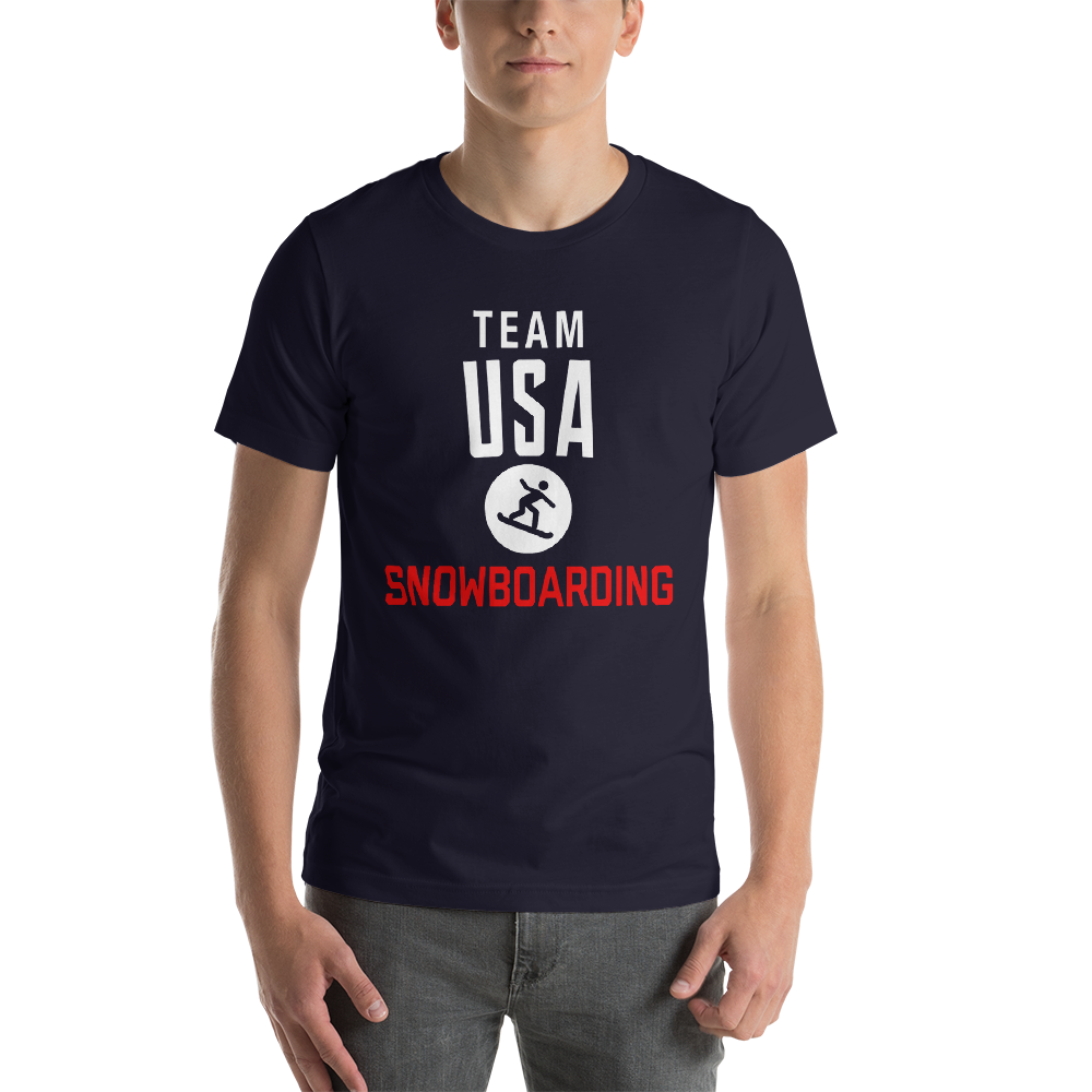 Snowboarding Team USA T-Shirt
