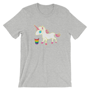 Unicorn Rainbow Love Smoothie T-Shirt
