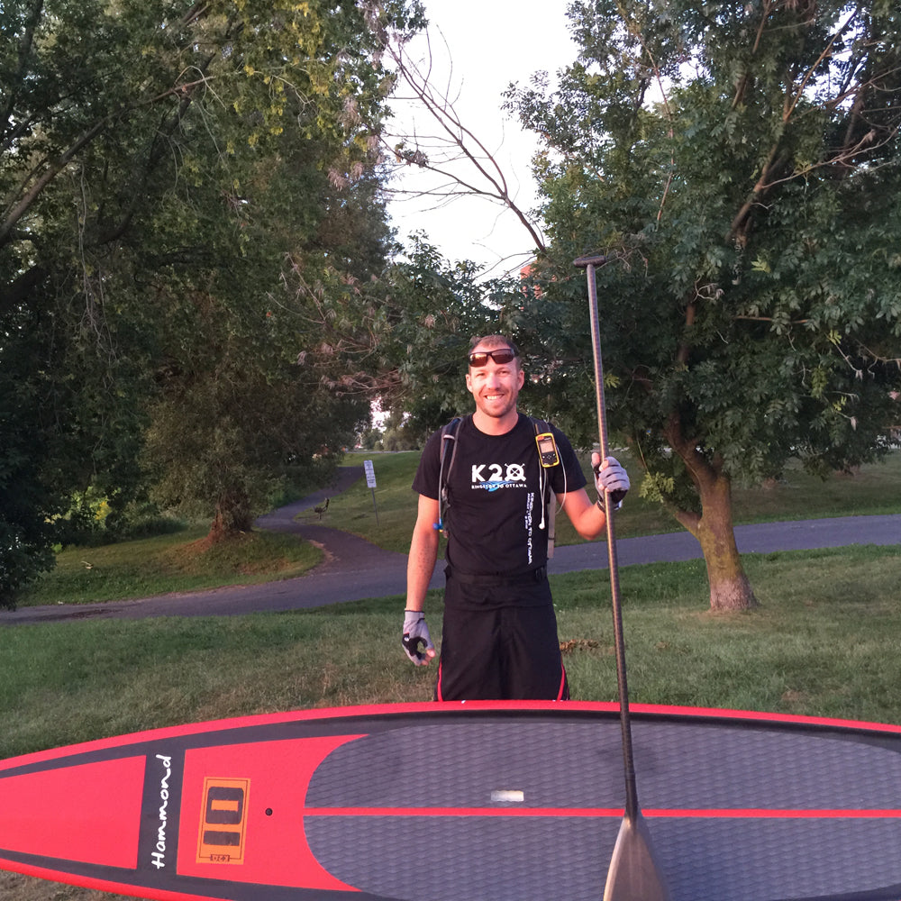 Brandon Lourie, Stand up paddle board (SUP) racer, Ontario