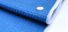 Snappy Towels are made of super-absorbent textured microfiber. The most comfortable swim towels and travels towels.