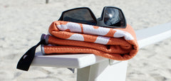 Textured microfiber beach towels, microfiber towels for kids, textured microfiber gym towels, travel towels, swim towels. Compact, portable, super-absorbent yet comfortable to use swim towels and travel towels.