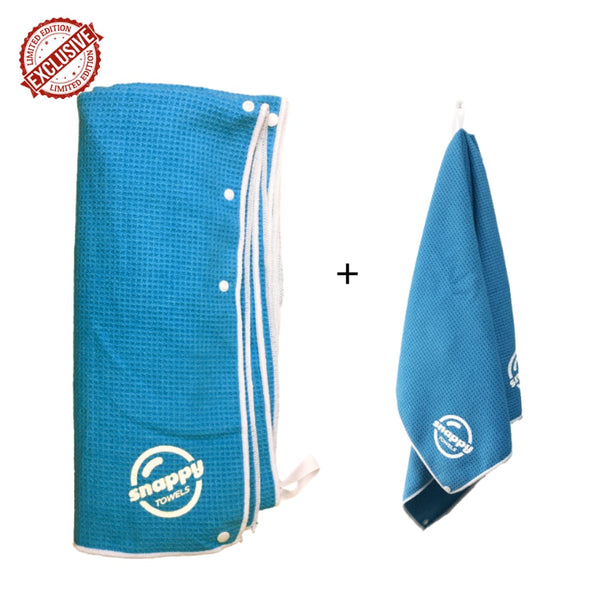 Snappy Beach & Fitness Towel Set...with Snaps!