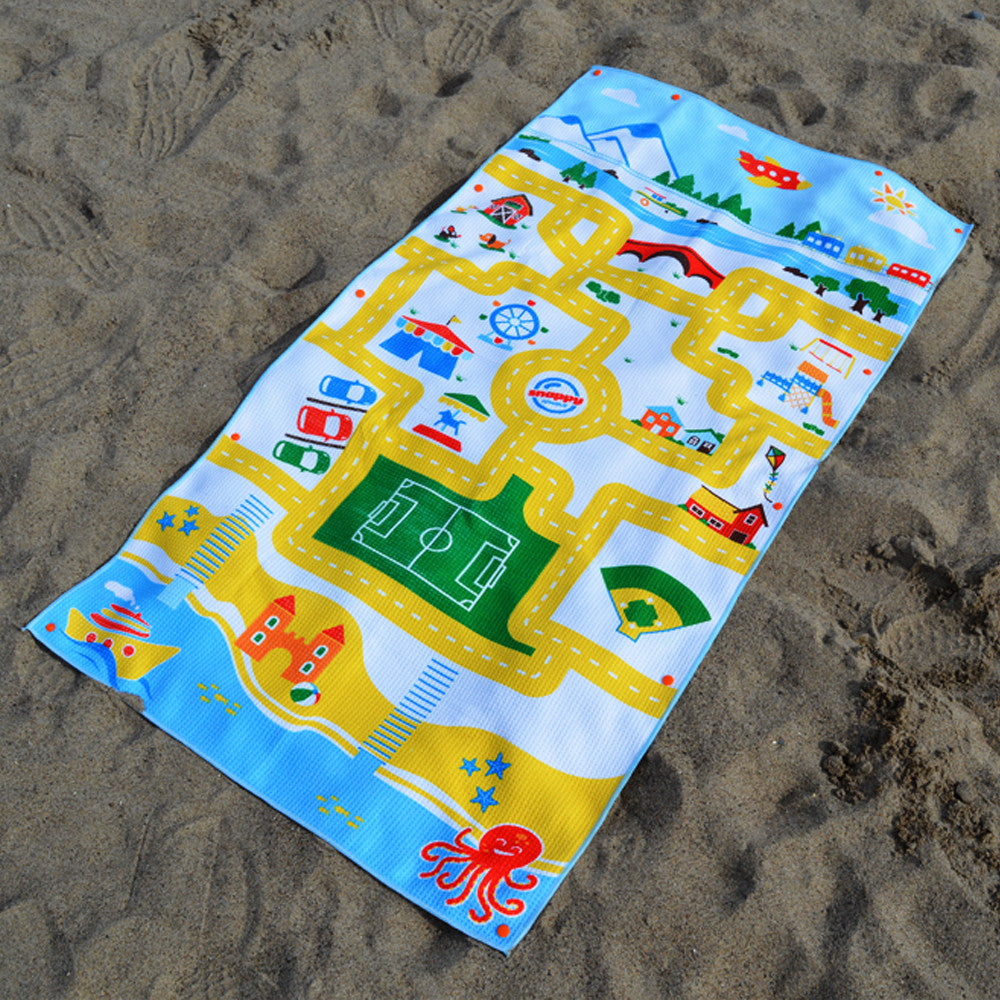 Kids Beach Towels Play Mat Travel Towel For Kids