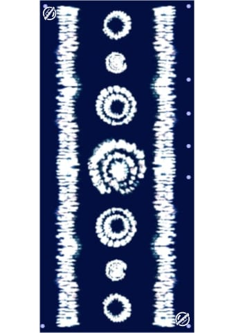Snappy eco collection midnight sky color beach towel