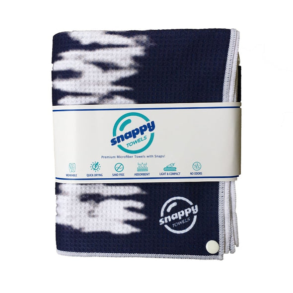 Snappy ECO Microfiber Beach Towel with Snaps! - Midnight Sky