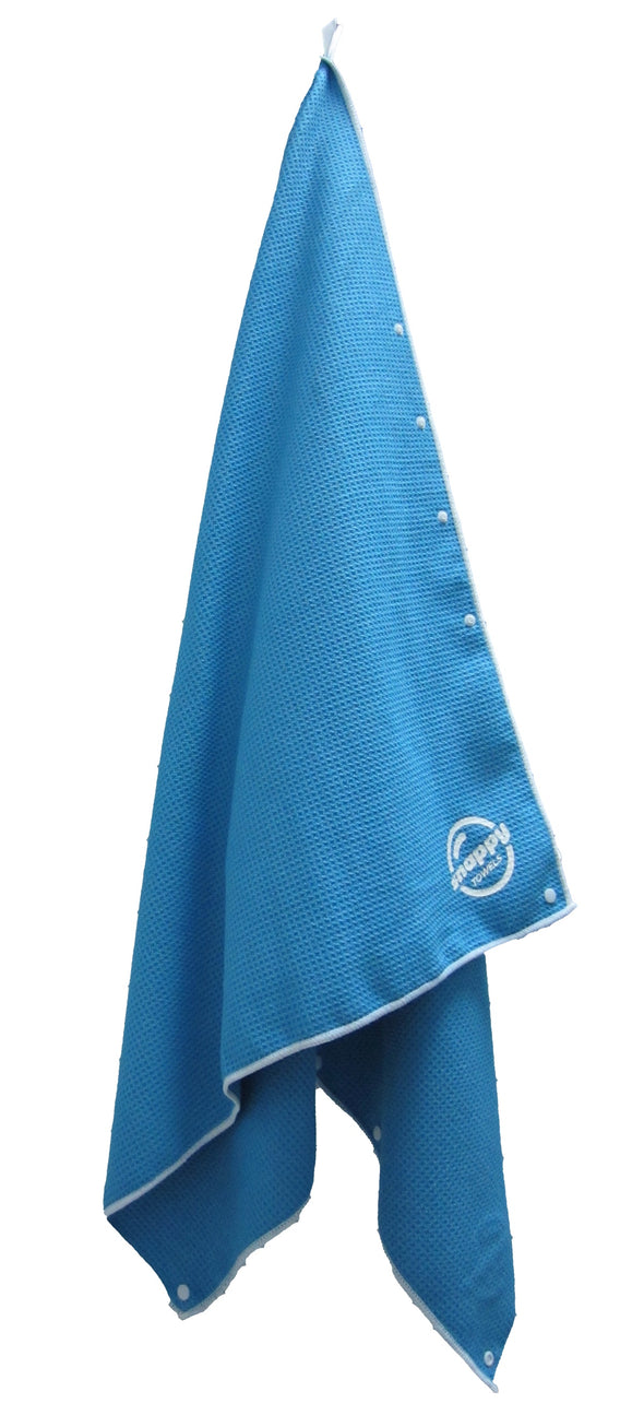 Limited Edition Broadwalk Blue Microfiber Towels