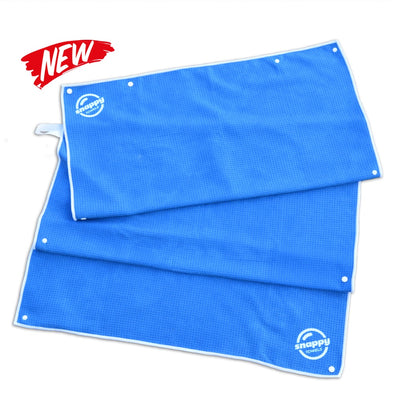 Limited Edition Boardwalk Blue Microfiber Towels