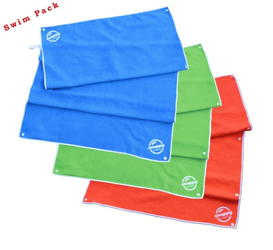 Snappy Swim/Sport Towel - Summer 3-Pack