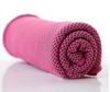 Snappy cooling towel pink color