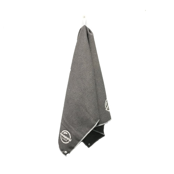 Snappy Fitness towel grey