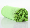 snappy cooling towel green color