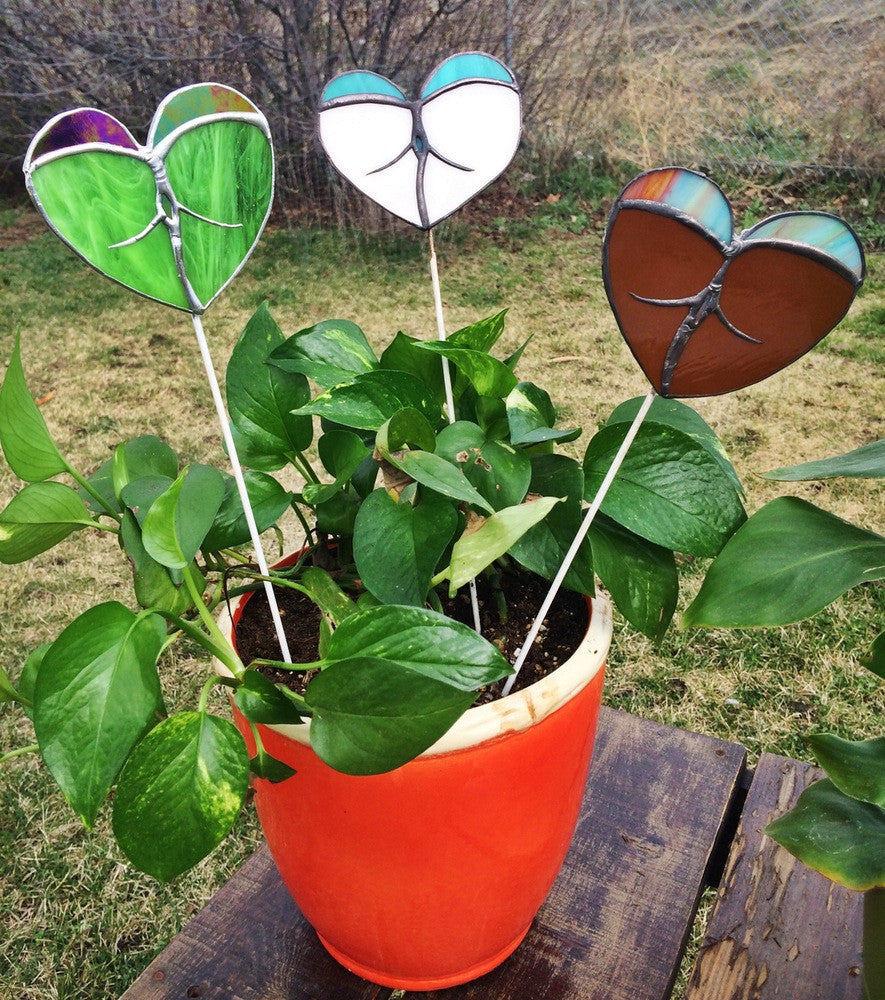 Heart Butt Planter Stick
