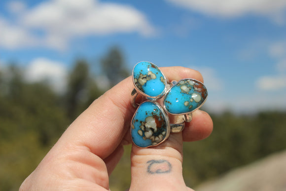 Made to Order Turquoise Stacker Rings