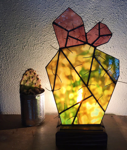 Coyote Cactus Fan Lamp