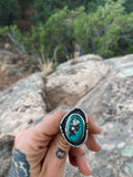 Turquoise with Border Size 8