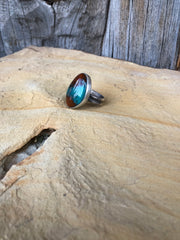 Red Canyon Ring SIZE 6.5