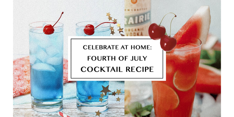 How to Make Fourth of July Cocktails At-Home!