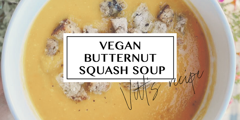 Vitt's Recipe: Vegan Butternut Squash Soup