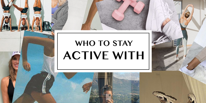 Who to Stay Active With