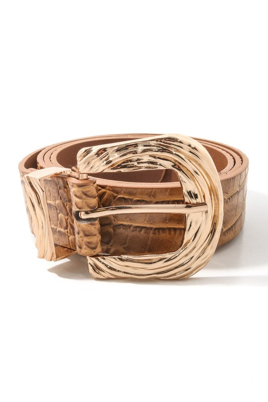 Southern Sunset Tan Belt