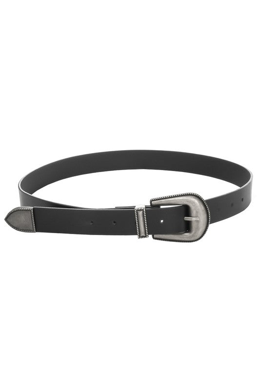 Kinsley Black and Silver Belt