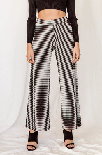 Do Not Disturb Striped Lounge Pants