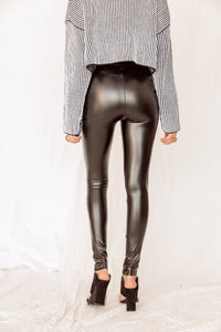 Valerie Vegan Leather Leggings
