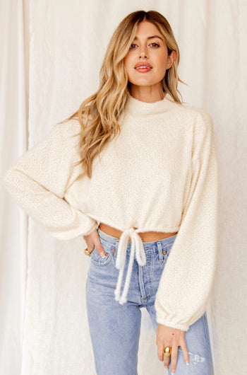 Hometown Girl Ivory Sweater