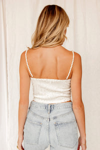 Waiting All Night Sequin Top