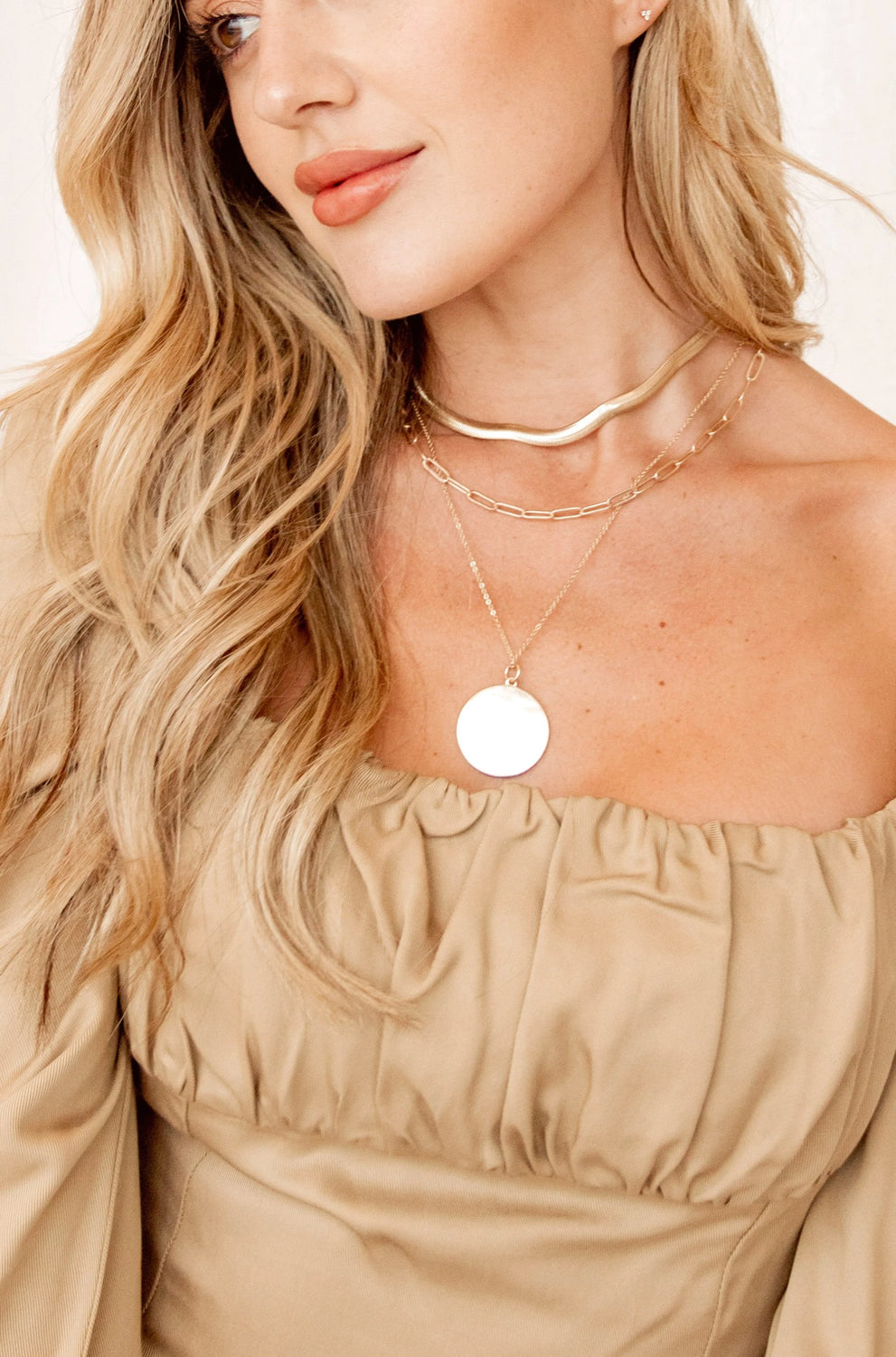 Mia Gold Layer Necklace