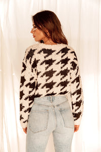 Hudson Houndstooth Sweater