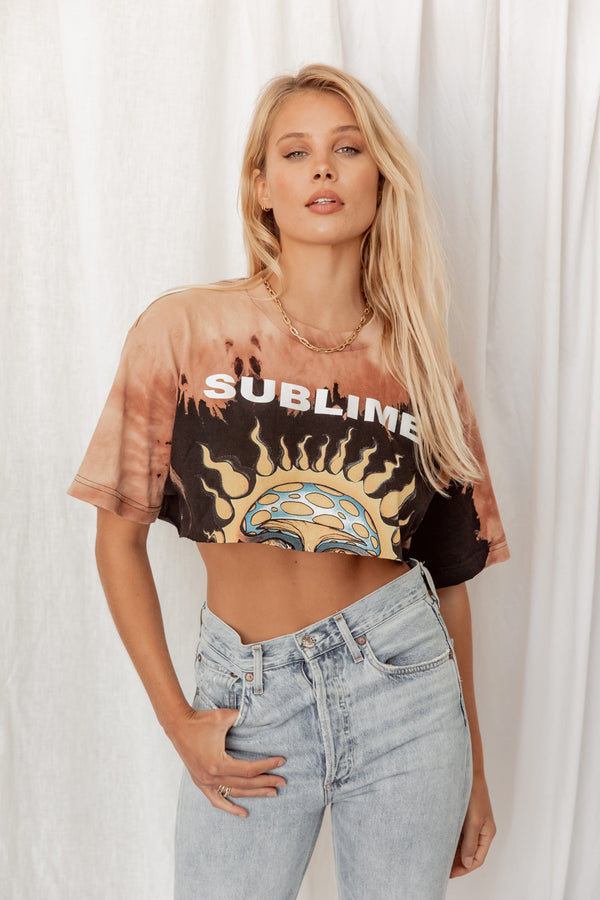 Sublime Tie Dye Classic Crop Tee