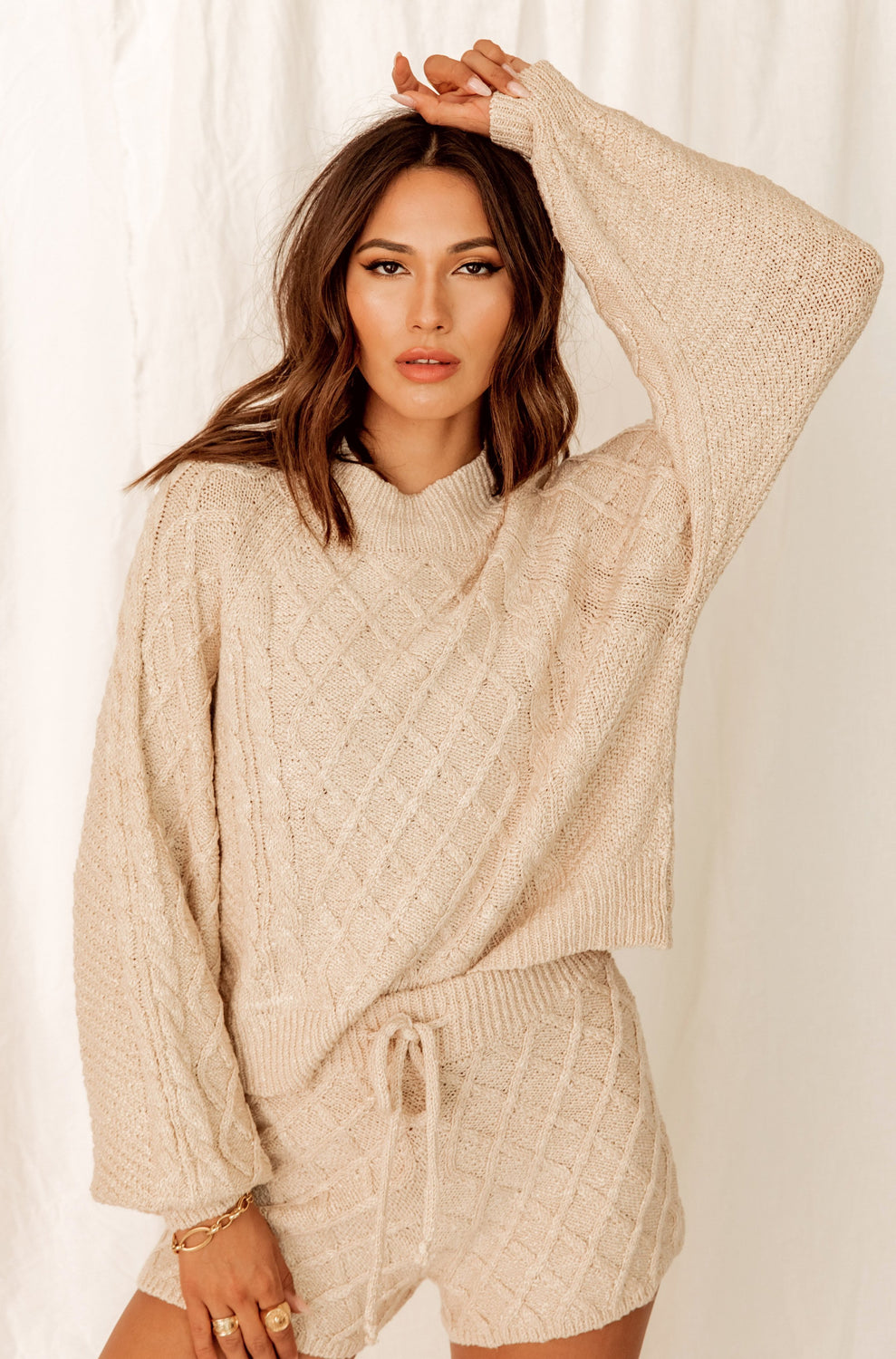 Aspen Escape Cream Sweater