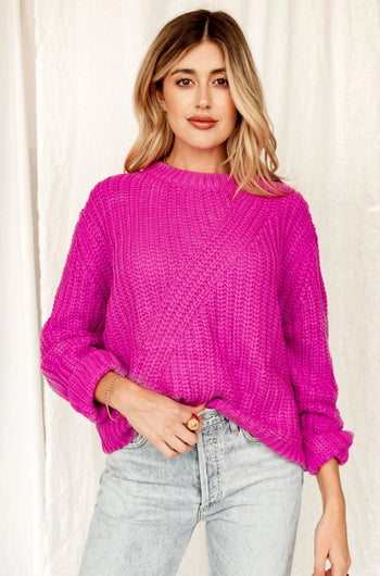 Play Date Magenta Sweater