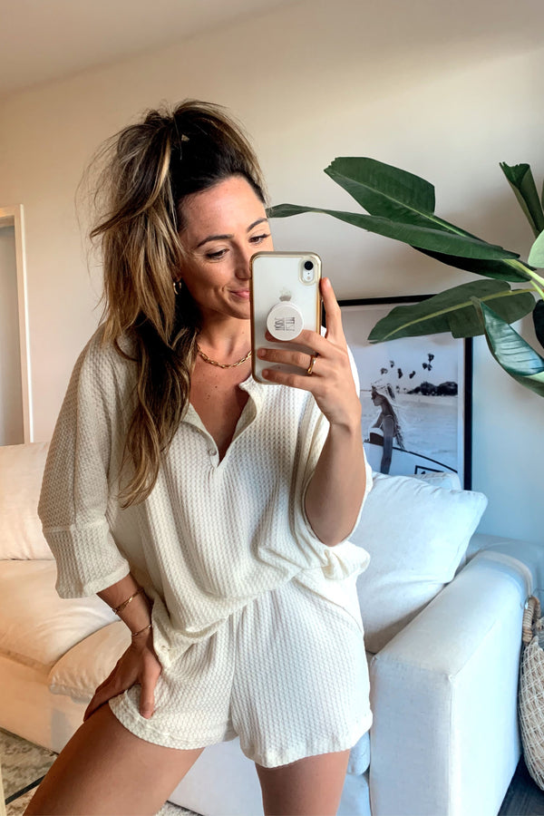 Sydney Mornings Ivory Lounge Top