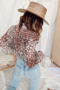 Stay Forever Leopard Blouse