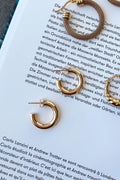 Ellie Vail Cecile Thick Small Hoop Earring