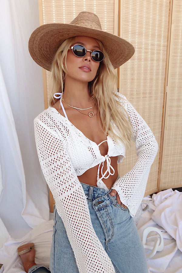 Endless Summer Crochet Crop Top