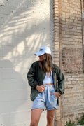 Small Town Girl Olive Jacket