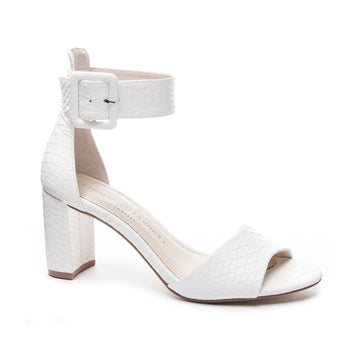 Chinese Laundry Rumor White Snake Heel