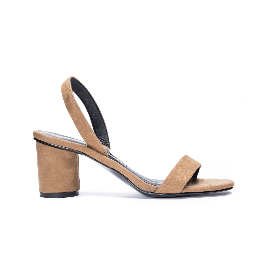 Yumi Brown Suede Sandal