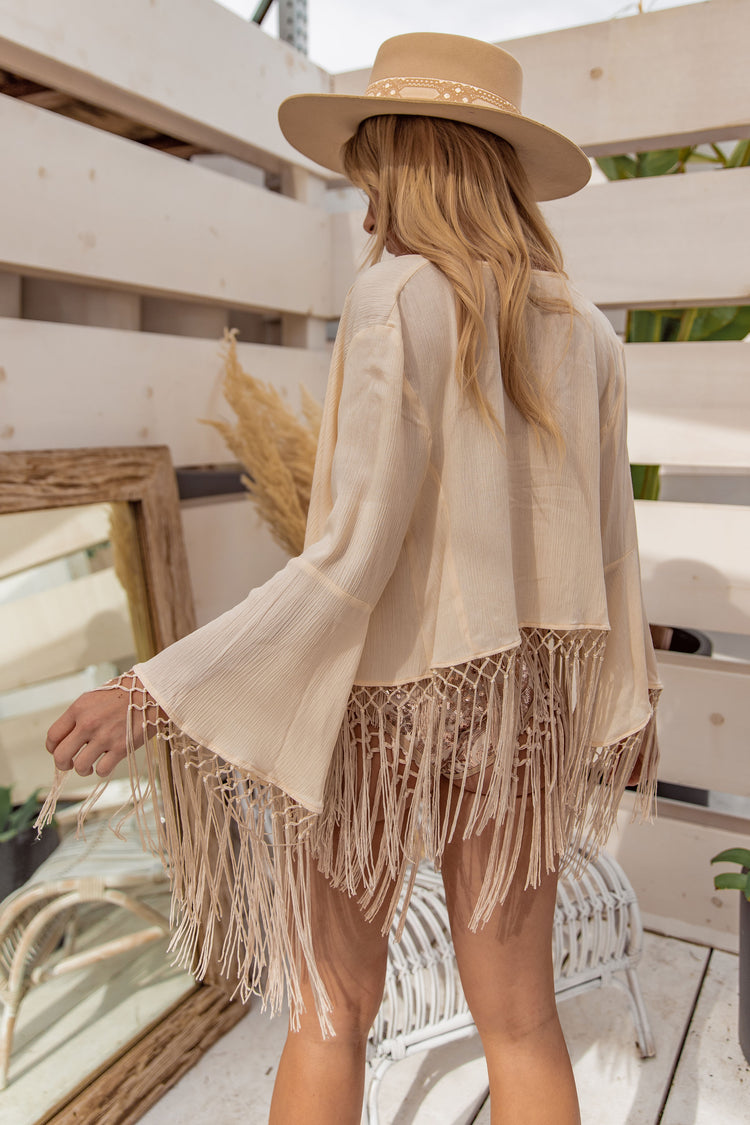 East N West Nude Amalfi Jacket