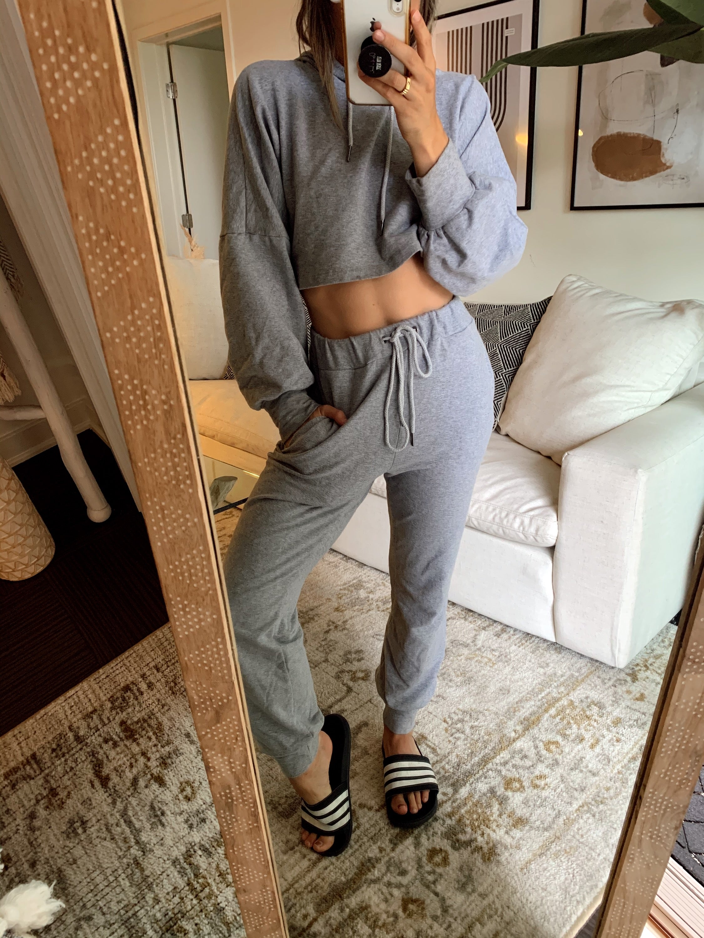 Stay Ready Grey Joggers
