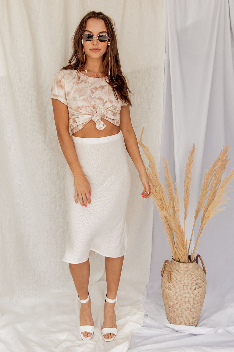 About Time Midi Skirt