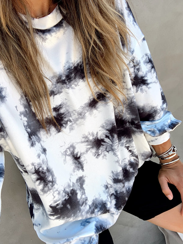 Santa Cruz Tie Dye Long Sleeve Top