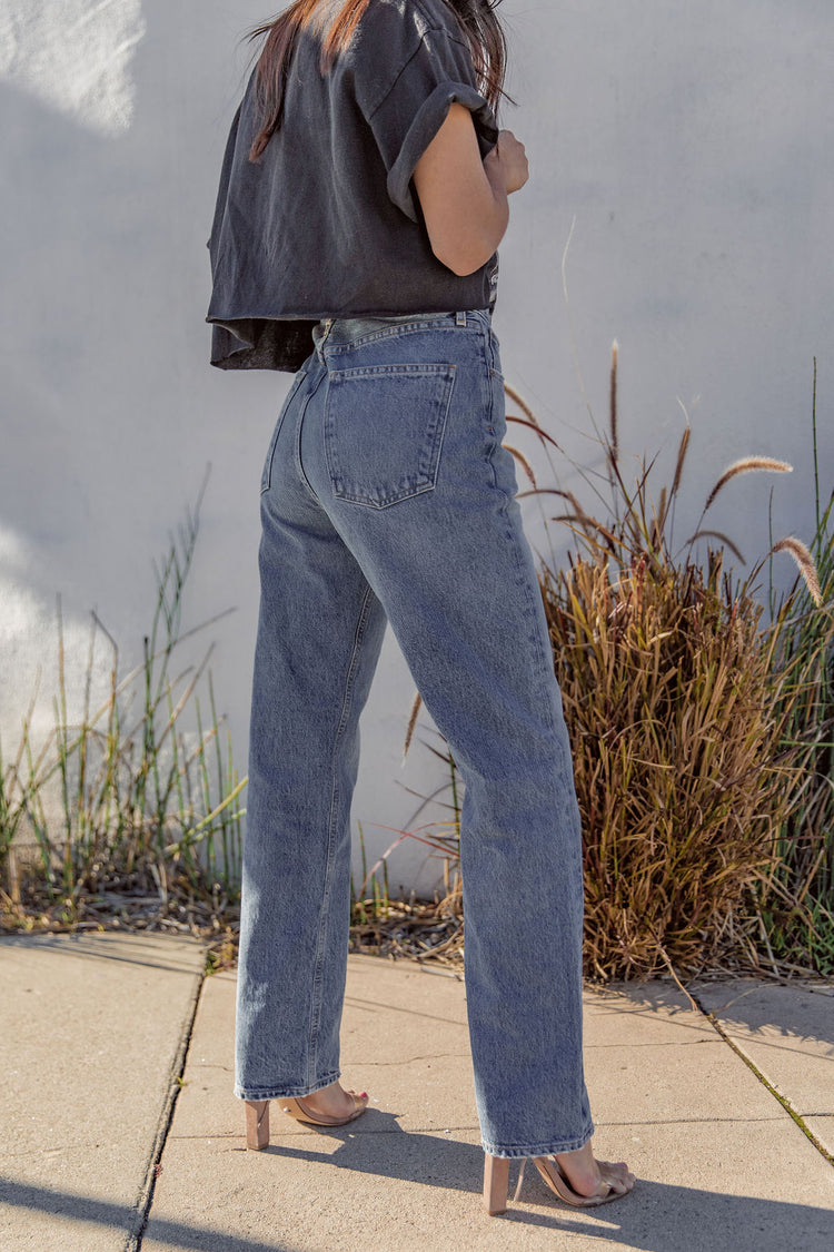 Agolde 90's Mid Rise Loose Fit In Affair