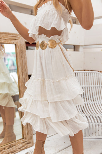 Like The Wind Ruffle Skirt
